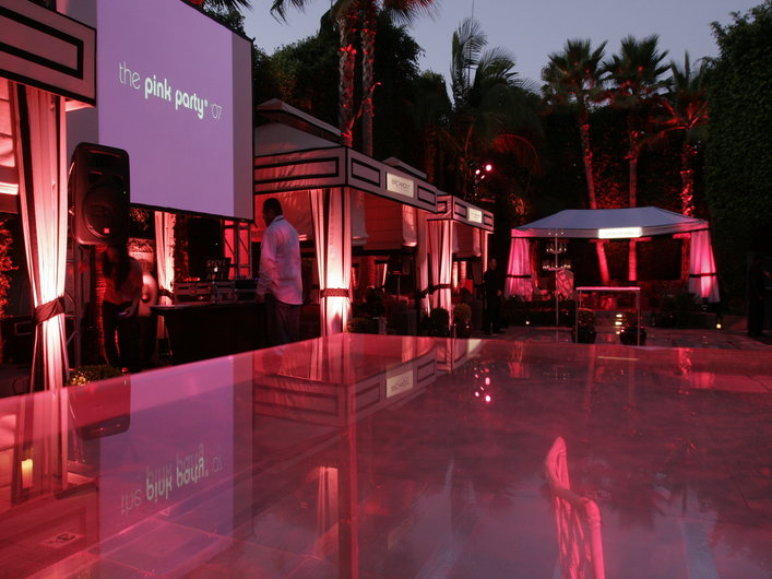 The Pink Party To Benefit Cedar-Sinai Women's Cancer Research Institute - Inside